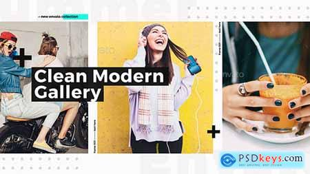 VideoHive Clean Modern Gallery Fashion Opener Event Promo Clothes Collection Stylish Urban Slideshow 18195043
