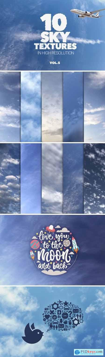 Sky Textures Vol 5 X10 1701540