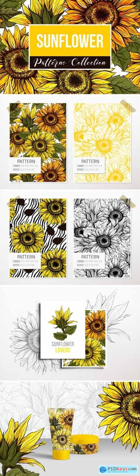 Sunflower Patterns Collection 1701452