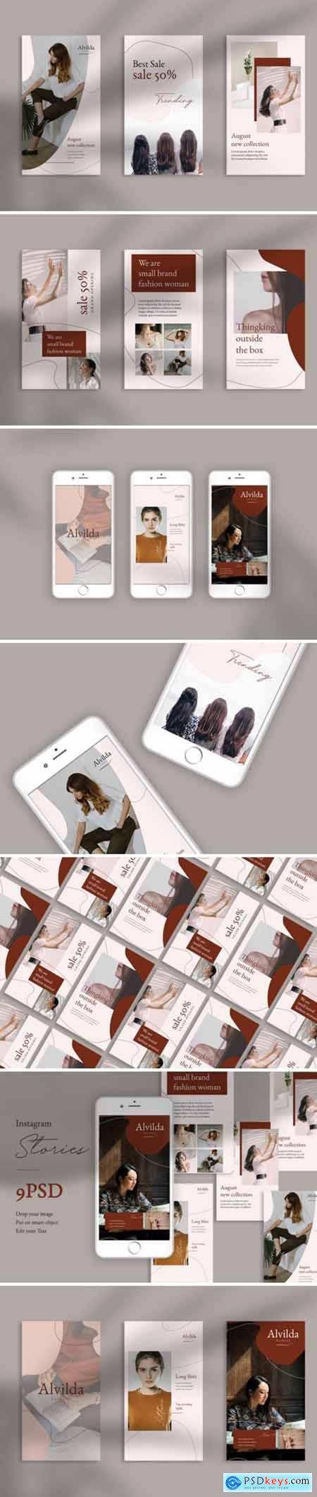 Alvida Instagram Stories Templates 1705817