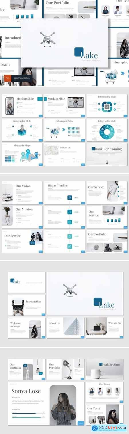 Lake Powerpoint, Keynote and Google Slides Templates