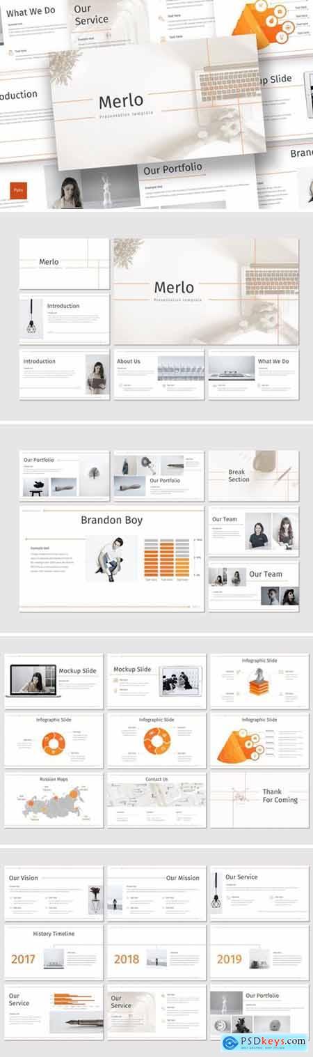 Merlo Powerpoint, Keynote and Google Slides Templates