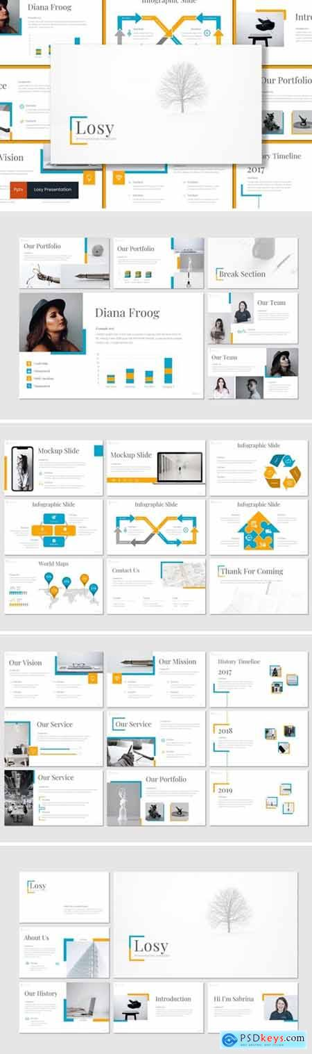 Losy Powerpoint, Keynote and Google Slides Templates