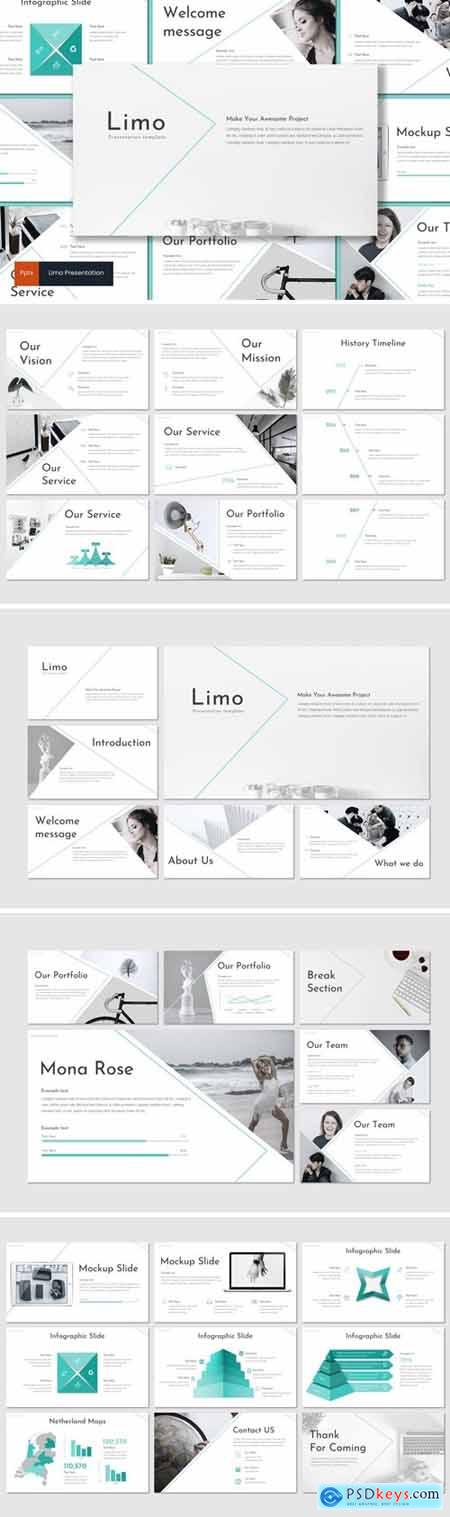 Limo Powerpoint, Keynote and Google Slides Templates