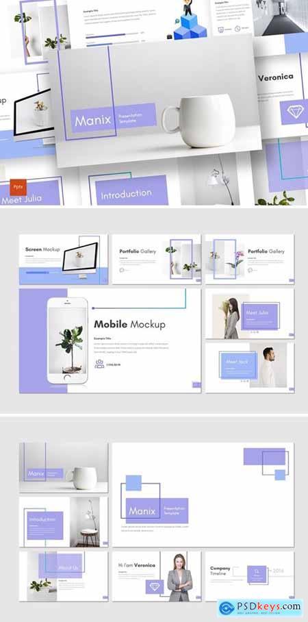 Manix Powerpoint, Keynote and Google Slides Templates