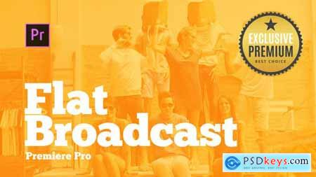 Videohive Broadcast Pack Flat for Premiere Pro 23921384