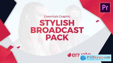 Videohive Stylish Broadcast Pack Essential Graphics Mogrt 23166541