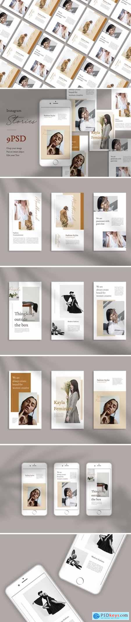Moodboard Instagram Stories Templates 1705701
