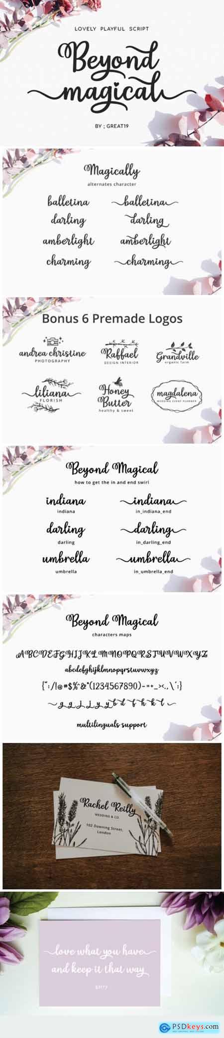 Beyond Magical Font