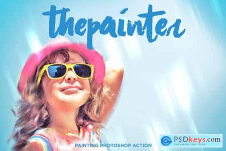 Oil Painting Photoshop Actions 3948266