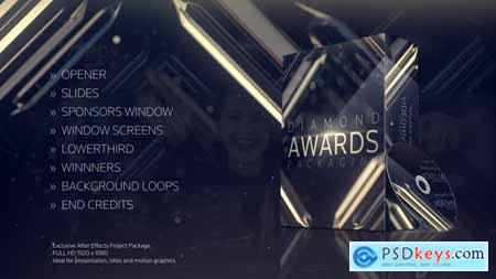 VideoHive Diamond Awards Packaging 22061739