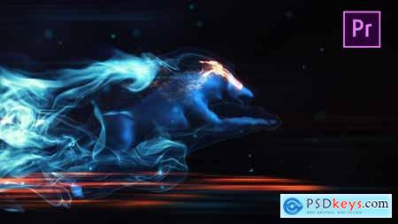Videohive Mystic Wolf Reveal Premiere Pro 24412341