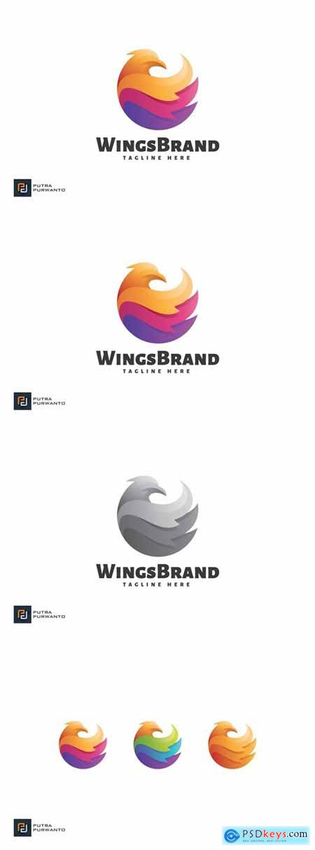 Wings Brand - Logo Template