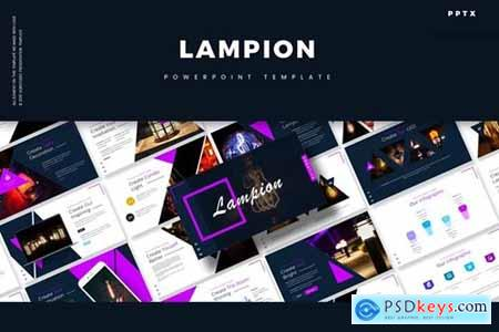 Lampion Powerpoint, Keynote and Google Slides Templates
