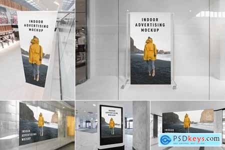 Indoor Advertising Mockups Vol. 1