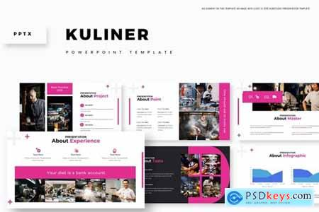 Kuliner Powerpoint, Keynote and Google Slides Templates