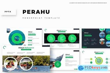 Perahu Powerpoint, Keynote and Google Slides Templates
