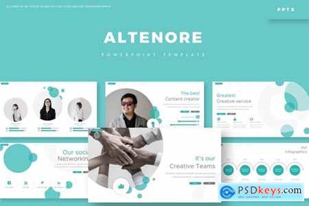 Alternore Powerpoint, Keynote and Google Slides Templates
