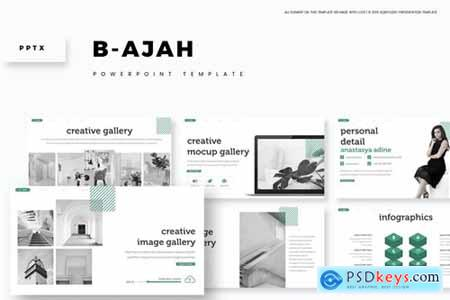 B - ajah Powerpoint, Keynote and Google Slides Templates