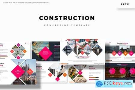 Contruction Powerpoint, Keynote and Google Slides Templates