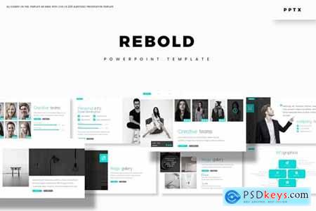 Rebold Powerpoint, Keynote and Google Slides Templates