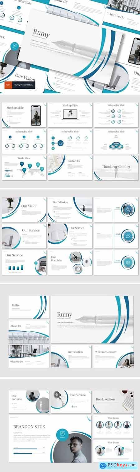 Rumy Powerpoint, Keynote and Google Slides Templates