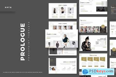Prologue Powerpoint, Keynote and Google Slides Templates