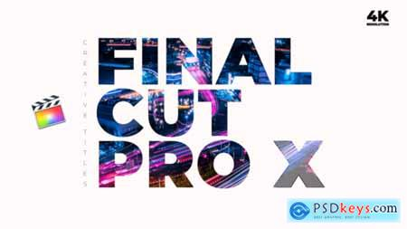 Videohive Creative Titles FCPX 24418181