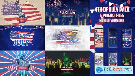 Videohive 4th of July Pack 24080538