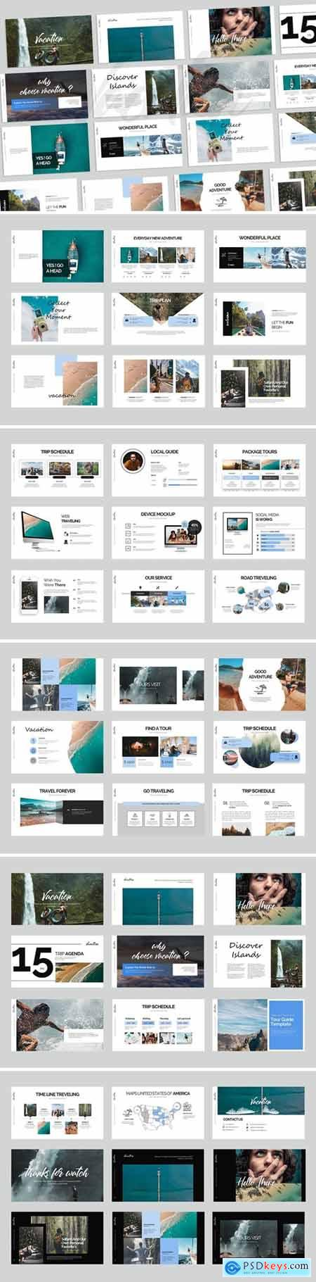 Vacation PowerPoint Presentation and Keynote
