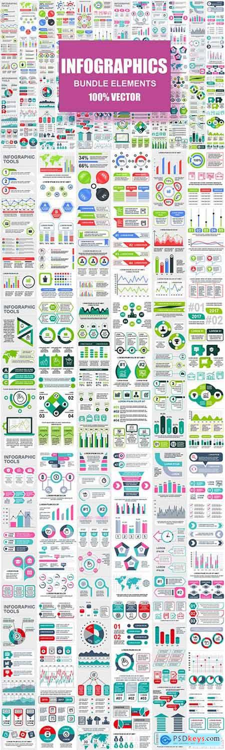 Infographic Elements Template Info Graphics 2CJ7WQX