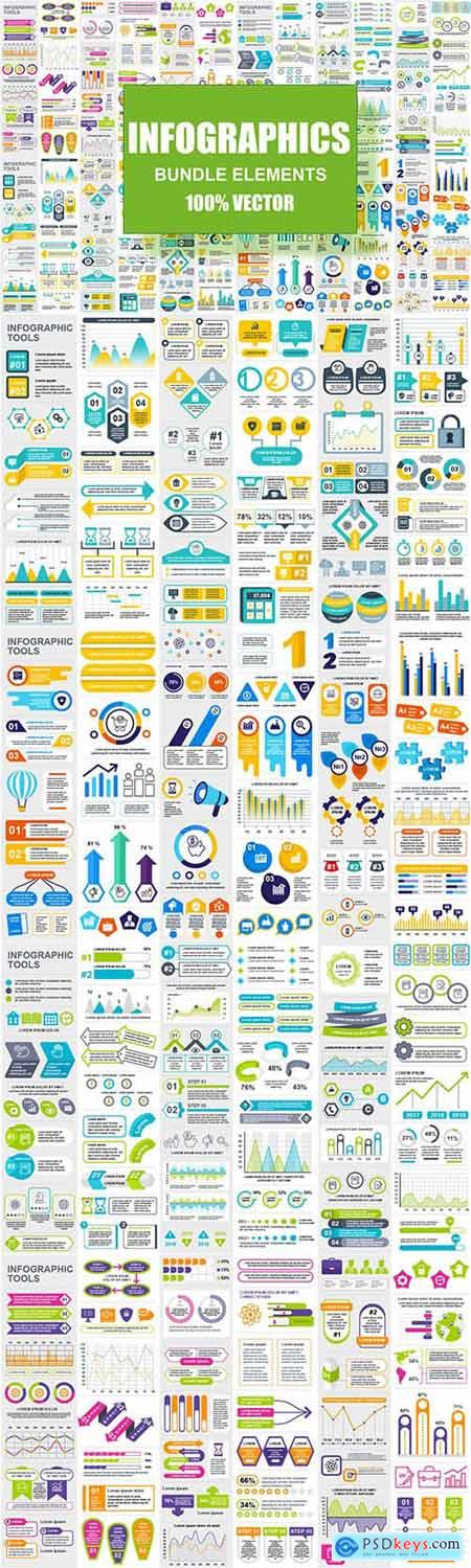 Infographic Elements Template Info Graphics GJN5BMT