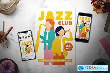 Jazz Flyer Set