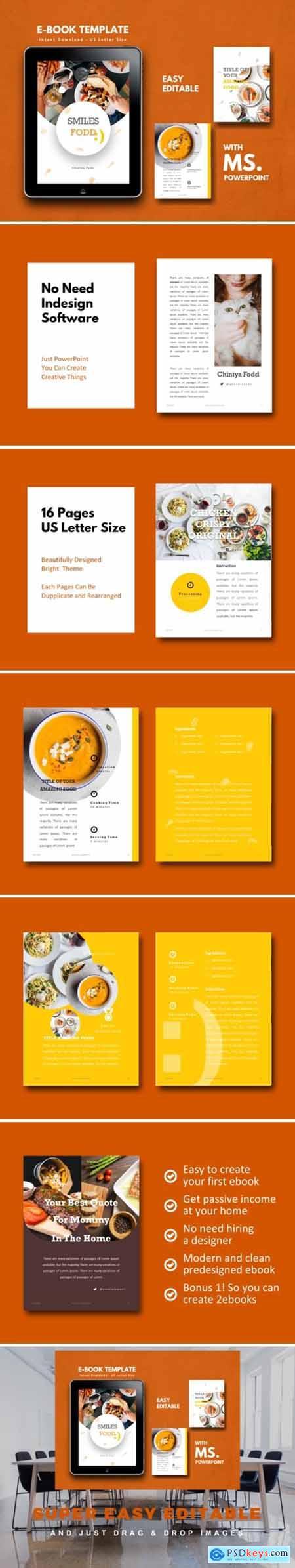 Recipe Book PowerPoint Template 1717377