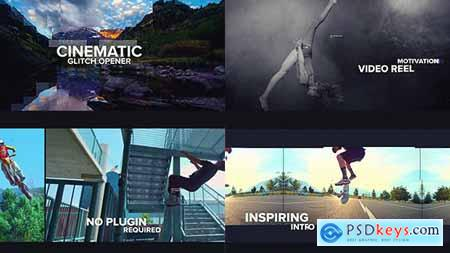 Videohive Cinematic Glitch Opener 20502712