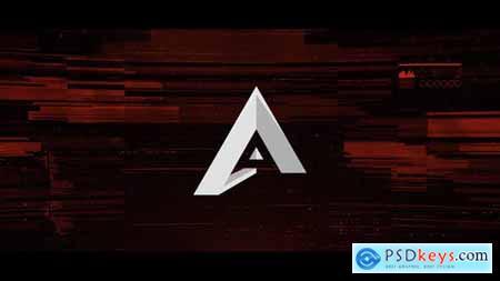 Videohive Fast Glitch Logo V3 22672199