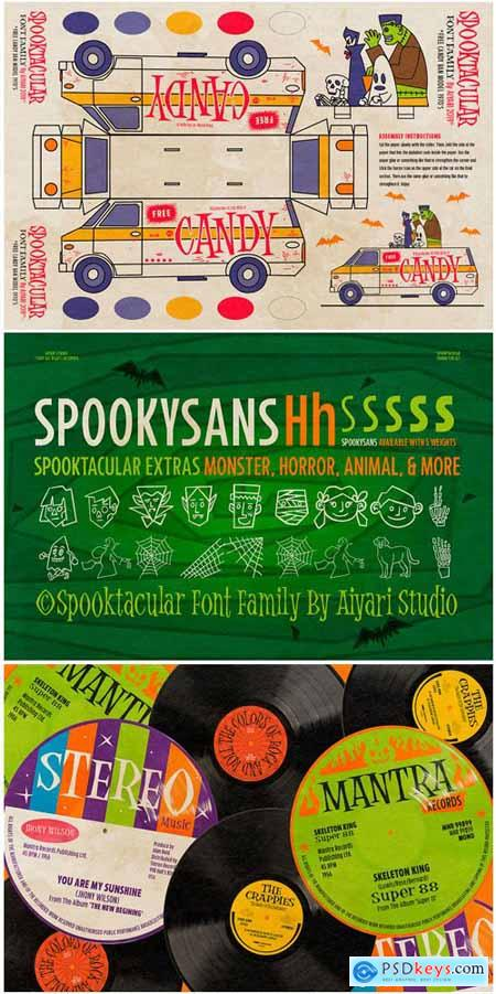 Spooktacular Font Family