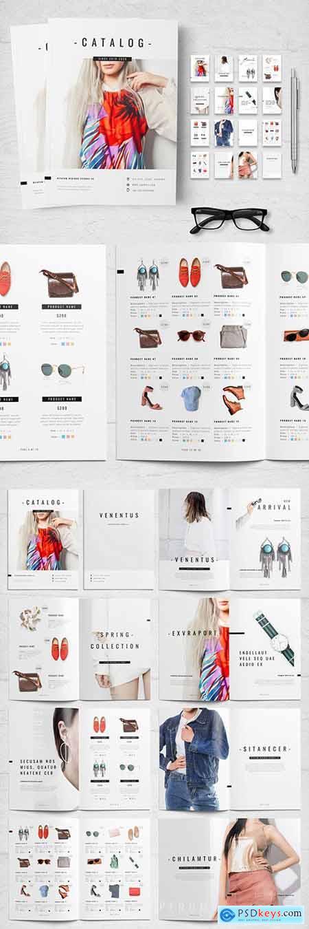 Black and White Product Catalog Layout 258166503