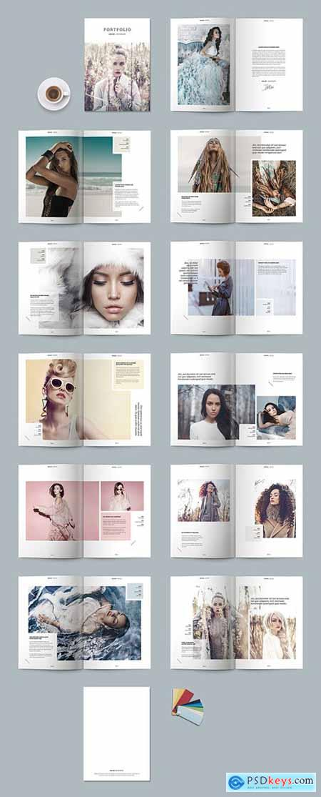 Portfolio Magazine Layout 238229651
