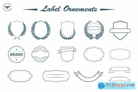 Label Ornaments