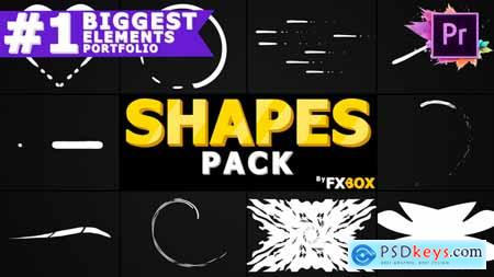 Videohive Cartoon Shapes Pack  Premiere Pro MOGRT 24439360