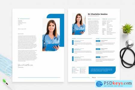Doctor Resume CV Template 16