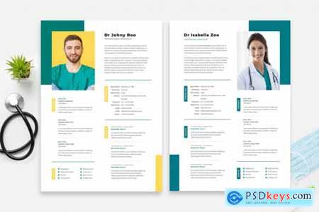 Doctor Resume Cv Template 15
