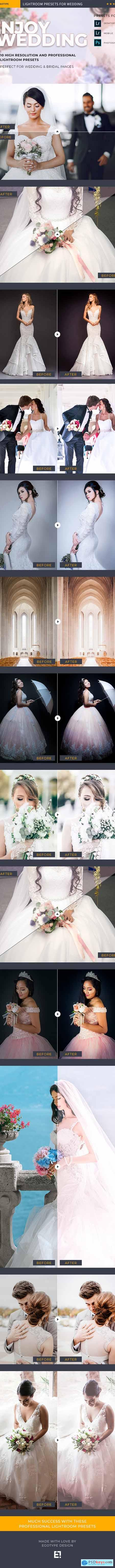 Premium Wedding Lightroom Presets 24318037