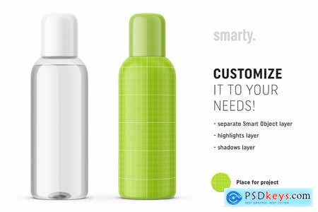 Cosmetic oil bottle mockup 3446392