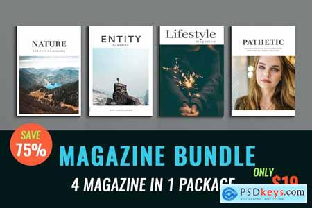 InDesign Magazine Bundle 4004436