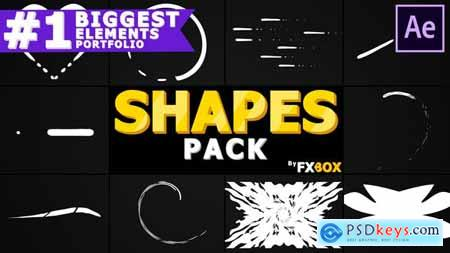 VideoHive Cartoon Shapes Pack After Effects 24439327