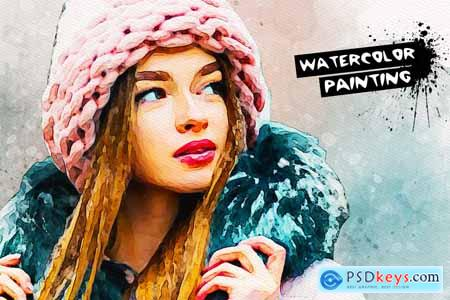 Watercolor Painting Effect 3704646
