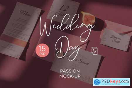 Wedding Day Mock-Up Passion 4005086