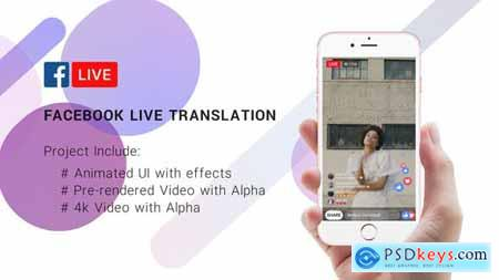 Videohive FaceBook Live Translation Stream 22289820